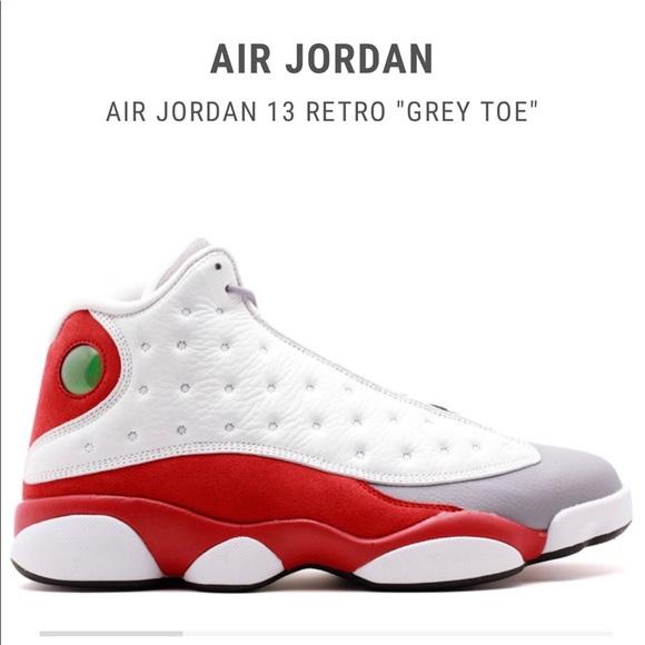 Air Jordan 3 Retro Grey Toe 13s   Poshmark